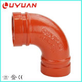 """1-1/2"""" Grooved Long Radius 90 Elbow (UL Listed, FM Approved)"""