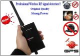 Wireless RF Signal Bug Detector