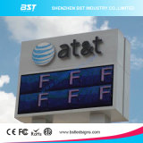 P8 SMD3535 Iron/Aluminum Outdoor Advertising LED Display Screen