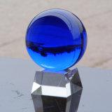 80mm Crystal Glass Ball Globe Crystal Fengshui Craft Deocration (Ks20121)