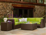 by-476 Brown Sectional Garden Sofa Outdoor Furniture