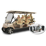 Golf Cart Utility Vehicle 4+2seat with Hybrid
