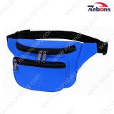 Custom 600d Polyester Outdoor Gym Sports Waist Hip Bag