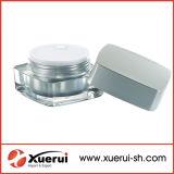 Cosmetic Square Shape Acrylic Cream Jar