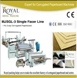 Single Facer Line Pizza Box Making Line Electrical Heating