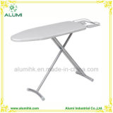 Hotel Silver Foldable Ironing Board with Adjustable Height