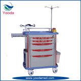 Hospital Medical Equipment ABS Emergency Cart