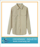 Long Sleeve Solid Shirt for Office Lady