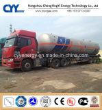 China 2015 LNG Liquid Oxygen Nitrogen Tank Car Semi Trailer