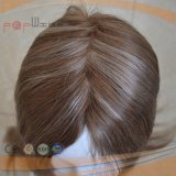 Top Quality 100% Human Virgin Remy Hair Full Handtied Mono Top PU Perimeter Toupee (pppg-l-0787)