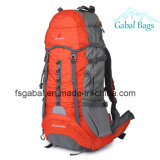 Water Resistant Nylon Mountain Adventure Gear Camping Bag Backpack