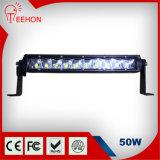9-60V 13 Inch 50W Single-Row CREE LED Light Bar