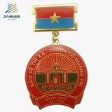 Free Sample Factory Decoration Custom Commemorative Medallion with Enamel