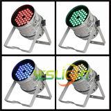 latest Stage LED PAR64 36PCS*3W RGB Tri LED Edison Brand Ce, RoHS Approved