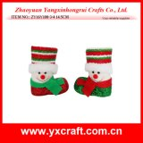 Christmas Decoration (ZY16Y108-3-4 14.5CM) Christmas Booth Christmas Supplies