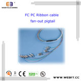 FC PC Ribbon Cable Fan-out Pigtail