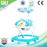 Latest Outdoor Ride on Plastic Baby Walker with Canopy
