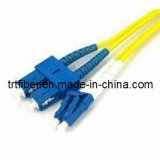 Sc/Upc-LC/Upc Sm Dx Fiber Patch Cord (SC/LC fiber optical jumper)