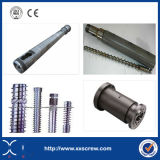 China Xinxing Double Twin Screw and Barrel