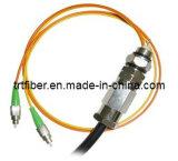 FC Waterproof Fiber Optic Patch Cord (fiber jumper cables)