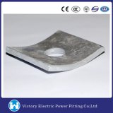 Galvanized Fastener Curved Square Washer