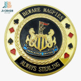 High Quality Metal Crafts Enamel Custom Commemorate Poker Coin