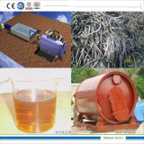 Tyre Recycling to Diesel Pyrolysis and Distillation Plant