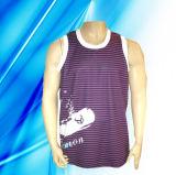 100% Polyester Man′s Sleeveless Basketball Jersey
