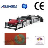 Auto Two Color Nonwoven Screen Printing Machine (AW-NWF12010II)