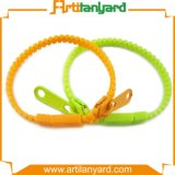 Promotional Colorful Zipper Bracelet with Gifts