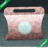 Nice Design Pink Color Foldable Paper Fancy Gift Boxes
