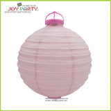 10 Inch Battery Plastic Base Paper Lantern with LED Light
