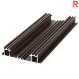 Aluminum/Aluminium Wooden Grain Aluminum Extrusion for Window