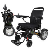 Easy Carry Lightweight Portable Folding Electric Power Wheelchair for The Disabled and Elderly