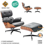 Eames Design Swivel Leather Lounge Chair (GV-EA670)