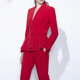 Ladies Casual Suit Fashion Slim Fit Suit of Various Colors