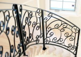 Gorgeous Design Wrought Iron Railing