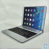 Aluminum Wireless Bluetooth Keyboard with Stand for iPad Air P-Ipd5bthkb002