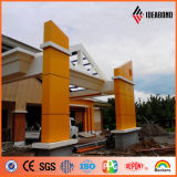 Orange Color PVDF Coating External Acm for Building Wall (AF-380)