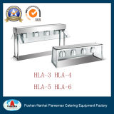Hla-6 6-Lamp Bench Top Warmer