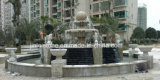 Large Size Natural Granite Stone Water Fountain for Garden Ornament