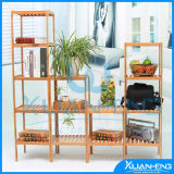 Bamboo Decorative Shelf Book Shelf