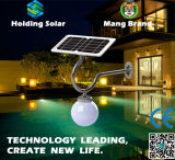 Solar Powered Energy Saving LED Garden Wall Lamp with IP65