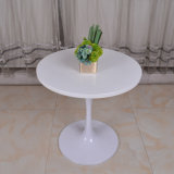 Metal Leg Round Restaurant Saarinen Tulip Table for Dining Room Furniture