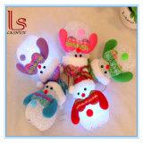 LED Snowman Christmas Decoration Mood Lamp Motif Light Christmas Tree Hanging Ornament