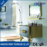 Waterproof Wall Mirror Set Stainless Steel Modern Bathroom