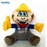High Quality Custom Plush Boy Worker Doll Stuffed Soft Toy
