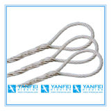 Soft Eye Wire Rope Sling for Lifting