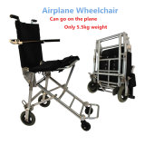 Small Mini Folding Lightweight Aluminium Wheelchair with Travel Bag