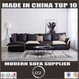 Modern Soft Wooden PU Leather Sofa for Living Room